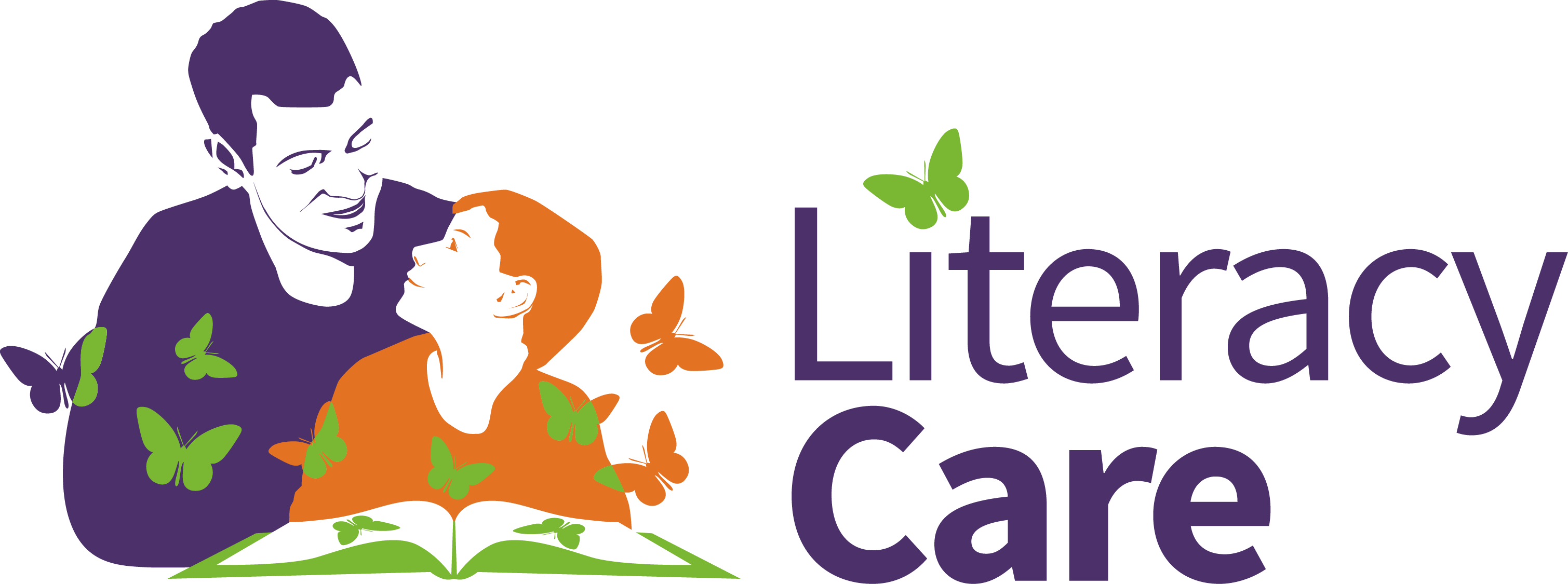 Literacy Care Orange Logo RGB Hori